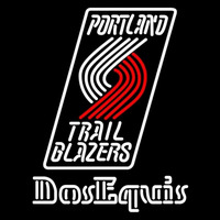Dos Equis Portland Trail Blazers NBA Beer Sign Neon Sign