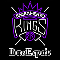Dos Equis Sacramento Kings NBA Beer Sign Neon Sign