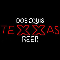 Dos Equis TeXXas Beer Sign Neon Sign