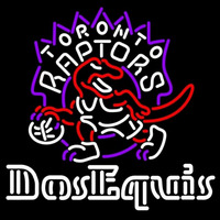Dos Equis Toronto Raptors NBA Beer Sign Neon Sign