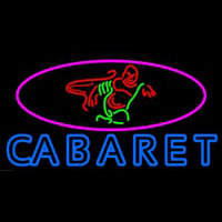 Double Stroke Cabaret Logo Neon Sign