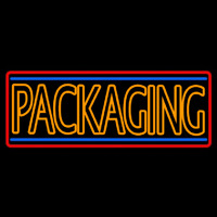 Double Stroke Packaging Neon Sign
