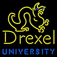 Drexel Dragons Primary 1985 2001 Logo NCAA Neon Sign Neon Sign