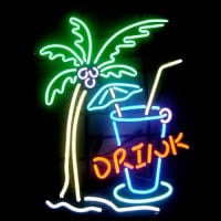 Drink Beer Neon Sign