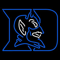Duke Blue Devils Primary 1978 Pres Logo NCAA Neon Sign Neon Sign