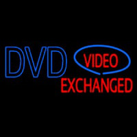 Dvd Video E changed Neon Sign