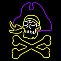East Carolina Pirates Alternate 1999 Pres Logo NCAA Neon Sign Neon Sign