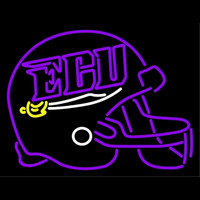 East Carolina Pirates Helmet 2005 Pres Logo NCAA Neon Sign Neon Sign