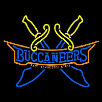 East Tennessee State Buccaneers Alternate 2002 Pres Logo NCAA Neon Sign Neon Sign