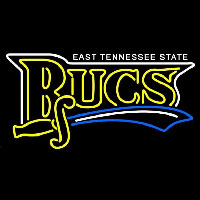 East Tennessee State Buccaneers Wordmark 2002 2006 Logo NCAA Neon Sign Neon Sign