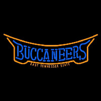 East Tennessee State Buccaneers Wordmark 2002 Pres Logo NCAA Neon Sign Neon Sign