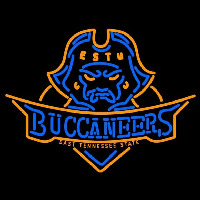East Tennessee State Buccaneers and Lady Buccaneers Neon Sign Neon Sign