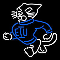 Eastern Illinois Panthers Primary 1988 1999 Logo NCAA Neon Sign Neon Sign