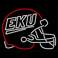 Eastern Kentucky Colonels Helmet 2004 Pres Logo NCAA Neon Sign Neon Sign