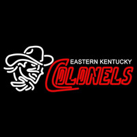 Eastern Kentucky Colonels Primary 2004 Pres Logo NCAA Neon Sign Neon Sign