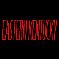 Eastern Kentucky Colonels Wordmark 2004 Pres Logo NCAA Neon Sign Neon Sign