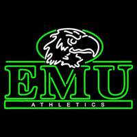 Eastern Michigan Eagles Alternate 2000 Pres Logo NCAA Neon Sign Neon Sign