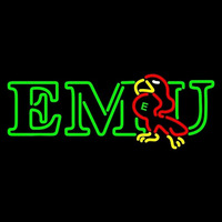 Eastern Michigan Eagles Primary 1991 1995 Logo NCAA Neon Sign Neon Sign