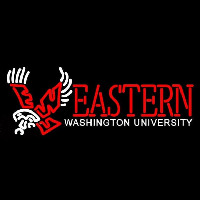 Eastern Washington Eagles Wordmark 2000 Pres Logo NCAA Neon Sign Neon Sign