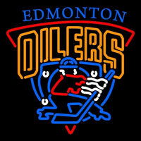 Edmonton Oilers Alternate 1996 97 2006 07 Logo NHL Neon Sign Neon Sign