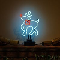 Elk Desktop Neon Sign