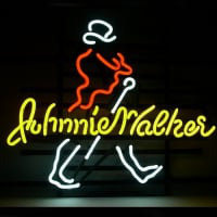 Ew Johnnie Walker Whiskey Neon Sign
