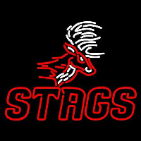Fairfield Stags Alternate 2002 Pres Logo NCAA Neon Sign Neon Sign