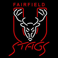 Fairfield Stags Primary 1991 2001 Logo NCAA Neon Sign Neon Sign