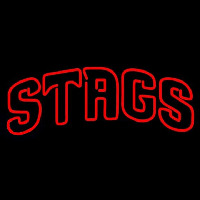 Fairfield Stags Wordmark 2002 Pres Logo NCAA Neon Sign Neon Sign