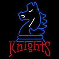 Fairleigh Dickinson Knights Primary 1996 2003 Logo NCAA Neon Sign Neon Sign