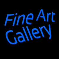 Fine Art Gallery Neon Sign