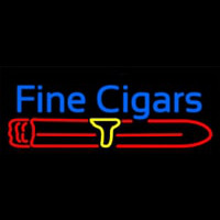 Fine Cigars Neon Sign