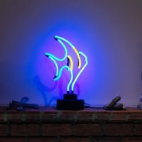 Fish Desktop Neon Sign