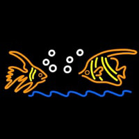 Fish Logo Neon Sign