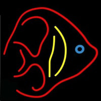 Fish Logo Seafood  Neon Sign