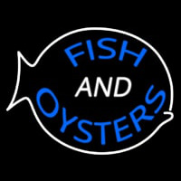 Fish Oysters Neon Sign