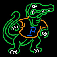 Florida Gators Alternate 2003 Pres Logo NCAA Neon Sign Neon Sign