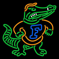 Florida Gators Primary 1992 1997 Logo NCAA Neon Sign Neon Sign