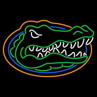 Florida Gators Primary 1998 Pres Logo NCAA Neon Sign Neon Sign
