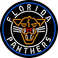 Florida Panthers Alternate 2009 10 2011 12 Logo NHL Neon Sign Neon Sign