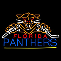 Florida Panthers Alternate 2009 10 Pres Logo NHL Neon Sign Neon Sign