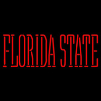 Florida State Seminoles Wordmark 1976 Pres Logo NCAA Neon Sign Neon Sign