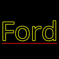 Ford Logo Neon Sign