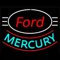 Ford Mercury Neon Sign