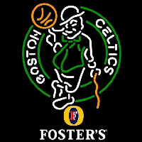 Fosters Boston Celtics NBA Beer Sign Neon Sign