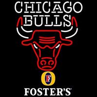 Fosters Chicago Bulls NBA Beer Sign Neon Sign