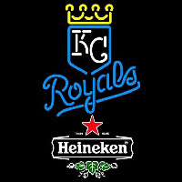 Fosters Kansas City Royals MLB Beer Sign Neon Sign
