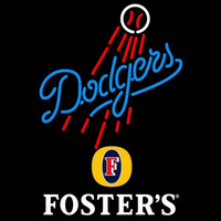Fosters Los Angeles Dodgers MLB Beer Sign Neon Sign