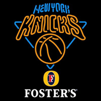 Fosters New York Knicks NBA Beer Sign Neon Sign