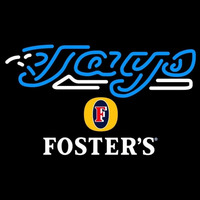 Fosters Toronto Blue Jays MLB Beer Sign Neon Sign